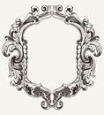 Vintage High Ornate Original  Frame Stock Photo