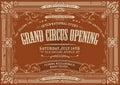 Vintage Horizontal Circus Back...