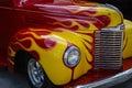 Vintage Hot Rod Car Royalty Free Stock Photo