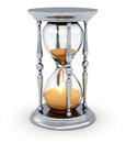 Vintage hourglass Royalty Free Stock Image