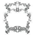 Vintage Imperial Baroque Rococo frame Royalty Free Stock Photo