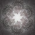 Vintage indian ornament flover mandala eps Stock Images