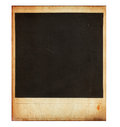Vintage instant photo frame isolated on white this high quality image represents Royalty Free Stock Image