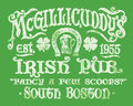 Vintage Irish Pub Sign T-shirt Graphic Royalty Free Stock Photography