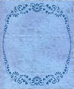Vintage isolated old retro blue paper texture Royalty Free Stock Photos