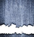 Vintage jean texture background Stock Photography
