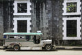Vintage jeepney intramuros manila philippines Royalty Free Stock Photo
