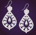 Vintage jewelry with gemstones and pearls