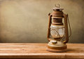 Vintage kerosene lamp Royalty Free Stock Photo