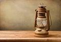Vintage kerosene lamp Royalty Free Stock Photo