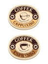 Vintage label coffee Royalty Free Stock Images