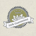 Vintage label organic products Royalty Free Stock Image