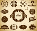 Vintage labels. Collection 3 Royalty Free Stock Photos