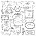 Vintage labels set vector this is file of eps format Royalty Free Stock Photography