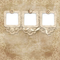Vintage lace background Royalty Free Stock Photos