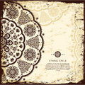 Vintage lace ornament Royalty Free Stock Photo