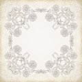 Vintage Lace Ornament Background
