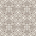 Vintage lace pattern old background seamless Royalty Free Stock Photography