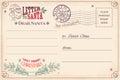 Vintage Letter To Santa Claus ...