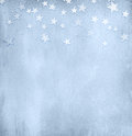 Vintage light blue paper with stars Royalty Free Stock Photo