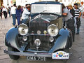 Vintage limousine Royalty Free Stock Images