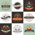 Vintage Logos Design Concept