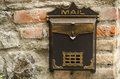 Vintage mailbox Royalty Free Stock Photo