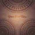 Vintage mandala ornament background Royalty Free Stock Photos