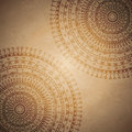Vintage mandala ornament background Royalty Free Stock Photography