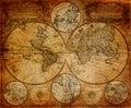Vintage Map 1746