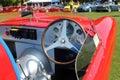 Vintage Maserati Tipo 200S cockpit Royalty Free Stock Photo