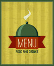 Vintage menu design template for your restaurant, cafe, bistro
