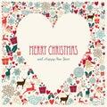 Vintage Merry Christmas Love H...