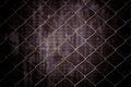 Vintage metal net and grunge background Royalty Free Stock Photo
