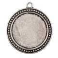 Vintage metal pendant Royalty Free Stock Photo