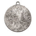Vintage metal pendant Stock Photos