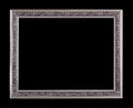 Vintage metal picture frame Royalty Free Stock Photo