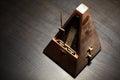 Vintage metronome Royalty Free Stock Photo