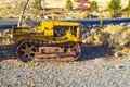 Vintage Mini Bulldozer Royalty Free Stock Photo