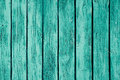 Vintage mint green wooden background. Old weathered green board. Texture. Pattern. Royalty Free Stock Photo