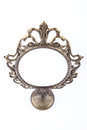 Vintage mirror in perspective Royalty Free Stock Photo