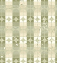 Vintage neutral geometric seamless pattern stained glass abstract background Stock Images
