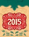 2015 Vintage New Year Holidays...