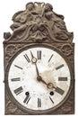 Vintage nineteenth century clock Stock Images