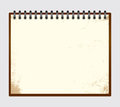 Vintage note pad Royalty Free Stock Photos