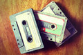 Vintage old cassette tape style image for music concept Royalty Free Stock Photos