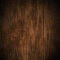Su vecchio scuro legno