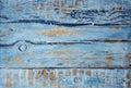 Vintage Old Grunge Blue Backgr...