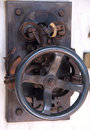 Vintage old mechanical switch Royalty Free Stock Photo