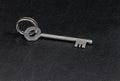 Vintage old metal key Royalty Free Stock Photo